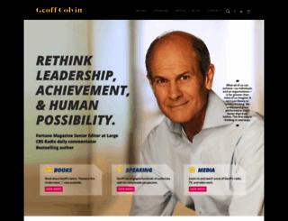 geoffcolvin.com screenshot