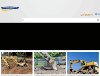 geoffwildeearthmoving.com.au screenshot