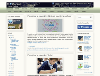 geografilia.blogspot.ro screenshot
