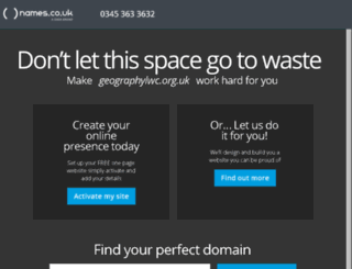 geographylwc.org.uk screenshot