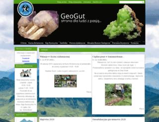 geogut.pl screenshot