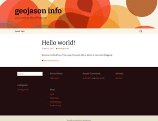 geojason.info screenshot