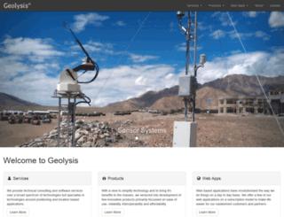 geolysis.com screenshot
