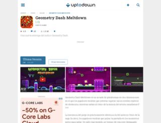 geometry-dash-meltdown.uptodown.com screenshot