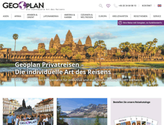 geoplan-reisen.de screenshot