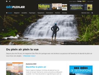 geopleinair.com screenshot