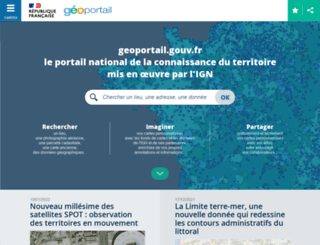 geoportail.gouv.fr screenshot