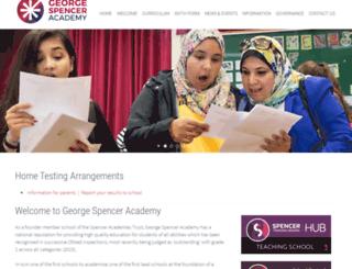 george-spencer.com screenshot