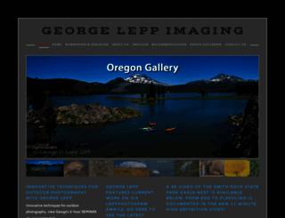 georgeleppimages.com screenshot