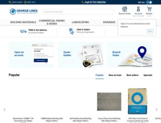 georgelines.co.uk screenshot