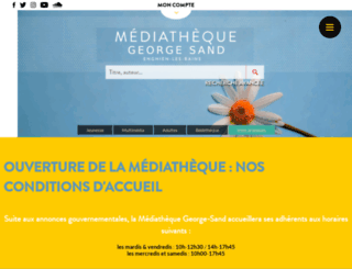 georgesand95.fr screenshot