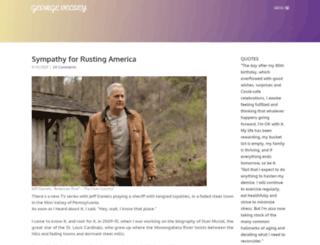 georgevecsey.com screenshot