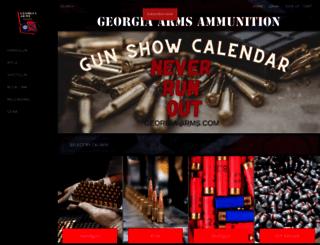 georgia-arms.com screenshot