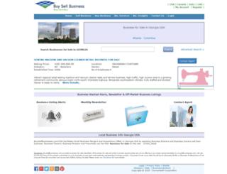 georgia.buysellbusinesses.com screenshot