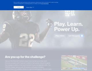 georgia.financialfootball.com screenshot