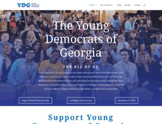 georgiayds.org screenshot
