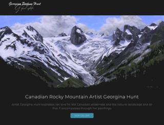 georginahunt.com screenshot