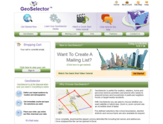 geoselector.com screenshot