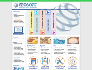 geosoftware.it screenshot