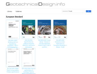 geotechnicaldesign.info screenshot