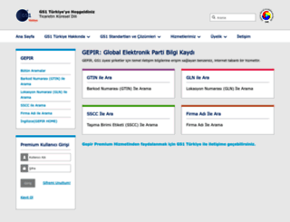 gepir.org.tr screenshot
