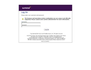 gepredev.sumtotalsystems.com screenshot