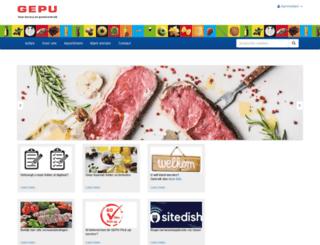 gepu.nl screenshot