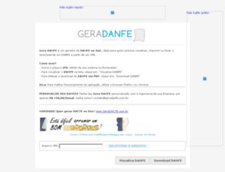 geradanfe.com.br screenshot