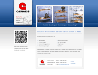gerads-gmbh.de screenshot