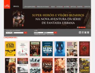 geral.leya.com.br screenshot