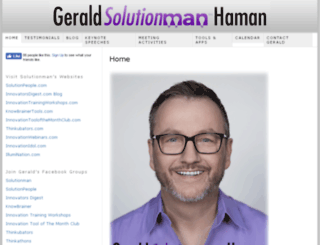 geraldhaman.com screenshot