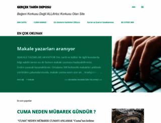 gercektarihdeposu.blogspot.com screenshot