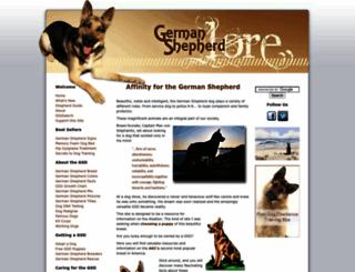 german-shepherd-lore.com screenshot