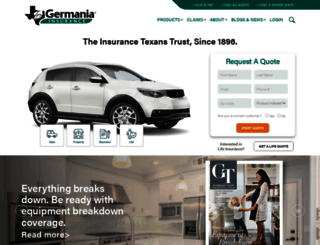 germaniainsurance.com screenshot