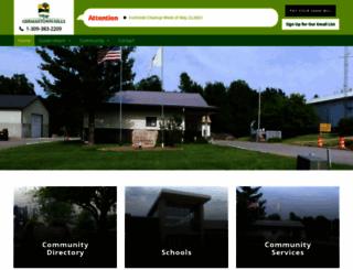 germantownhillsillinois.org screenshot