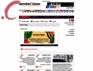 germinaciones.org screenshot