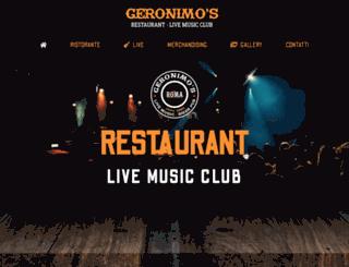 geronimospub.com screenshot