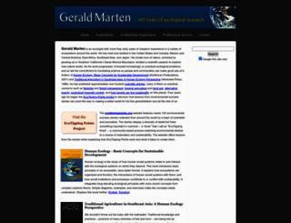 gerrymarten.com screenshot