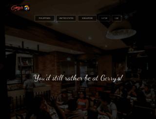 gerrysgrill.com screenshot