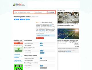 gesbot.com.cutestat.com screenshot