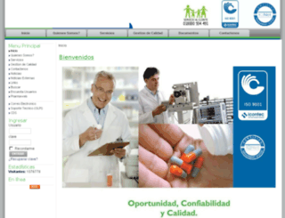 gestarpharma.com.co screenshot
