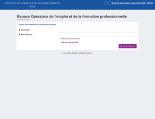 gestespaceprive.moncompteformation.gouv.fr screenshot