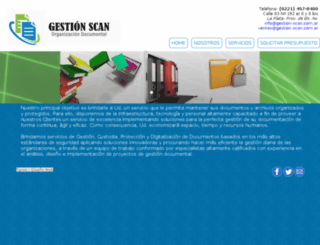 gestion-scan.com.ar screenshot