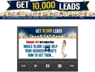 get10000leads.com screenshot