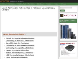 getattime.com screenshot