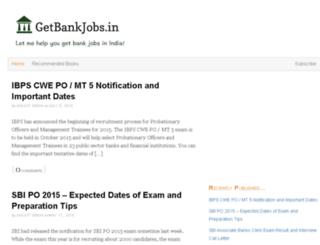 getbankjobs.in screenshot