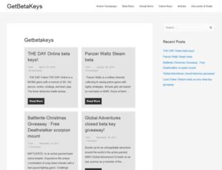 getbetakeys.com screenshot