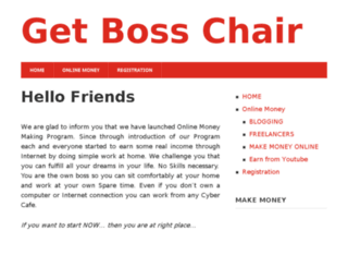 getbosschair.com screenshot