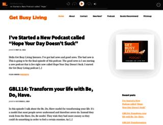 getbusylivingblog.com screenshot