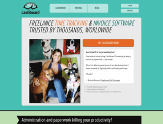 getcashboard.com screenshot